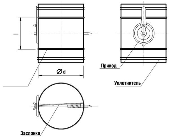 galvanized-round-volume-dampers